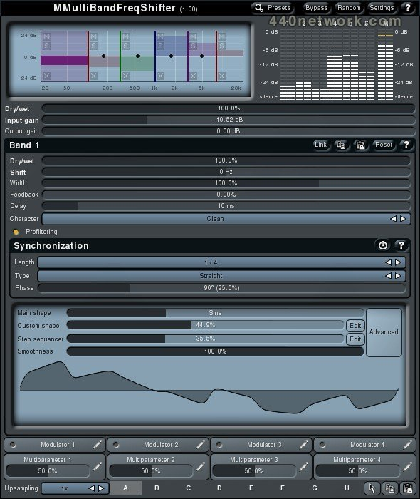 MeldaProduction MMultiBandFreqShifter