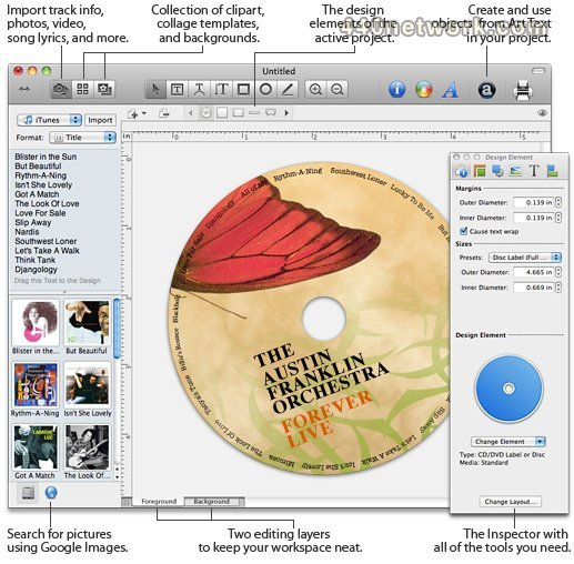 BeLight Software Disc Cover