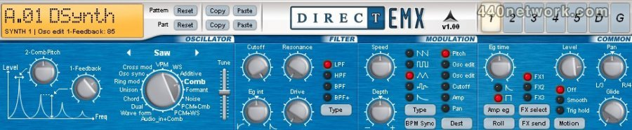 Direct Synth DirectEMX