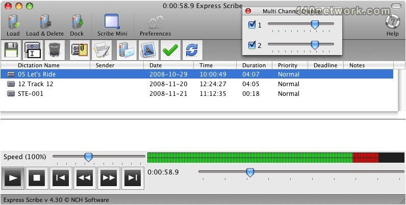 NCH Software Express Scribe