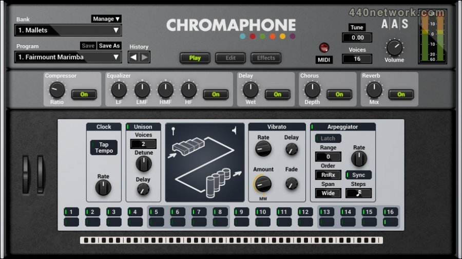 Applied Acoustics Systems (AAS) Chromaphone