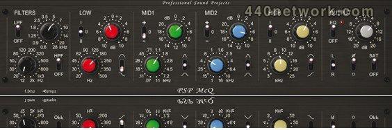 PSP Audioware PSP McQ