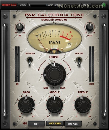 Plug and mix California tone