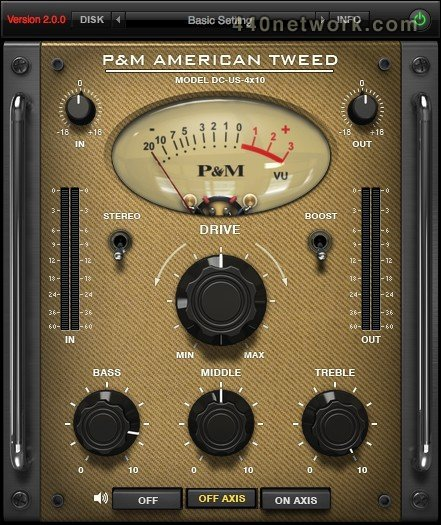 Plug and mix American Tweed