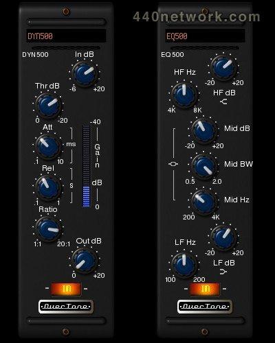 OverTone DSP EQ500 Channel EQ