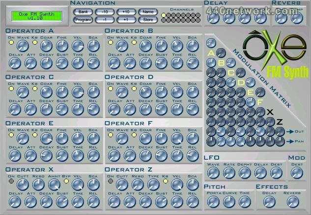 Oxe Music Software Oxe FM Synth