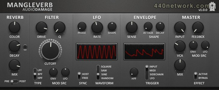 Audio Damage Mangleverb
