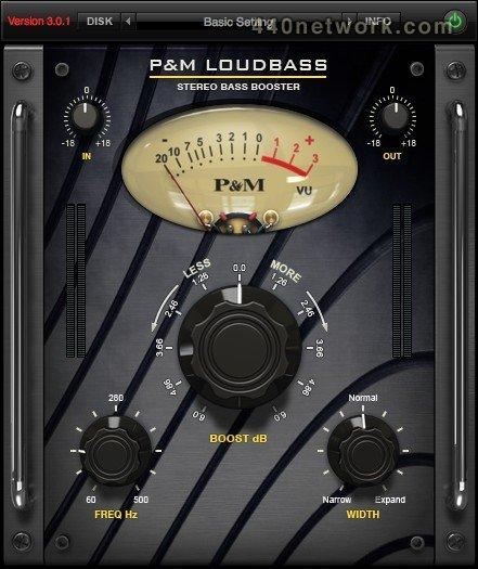 Plug and mix Loud Bass