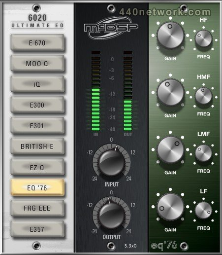 McDSP 6020 Ultimate EQ