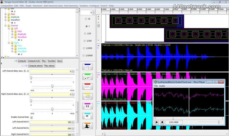 KangaSound Kangas Sound Editor QI