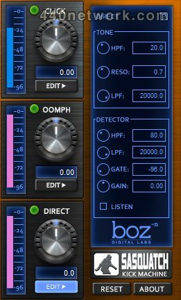 Boz Digital Labs Sasquatch Kick Machine