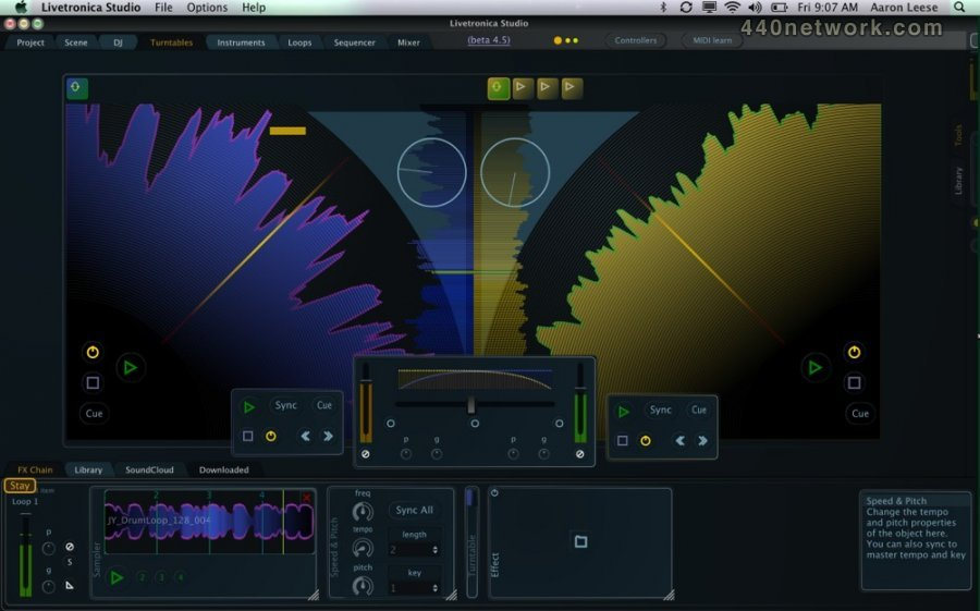 Stagecraft Software Livetronica Studio