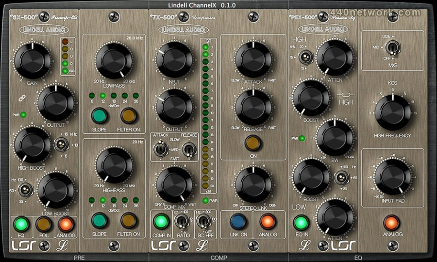 Lindell Plugins ChannelX