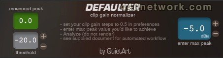 Quiet Art Defaulter