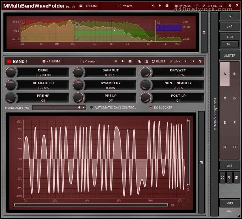 MeldaProduction MMultiBandWaveFolder