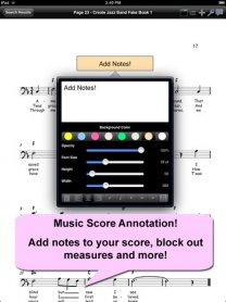 iGigBook Sheet Music Manager