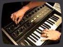 Démo du Micromoog, sorti en 1975.