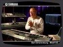 Bert Smorenburg presenting the Yamaha MOTIF XS synthesizer