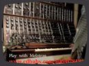 Moog IIIc demo. Two 901B VCOs set to unison. Play example with Mellotron.