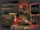 Le juge part à l'ATTAX du modèle 100 Hughes & Kettner: ampli combo 100W avec effets digitaux pour guitare.