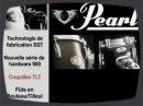 Présentation de la série de batteries Pearl Vision.