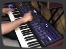 Mano from FutureProducers.com tests the Poly Evolver Keyboard by Dave Smith.