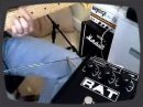 Here is a demo of my Proco RAT 2, which has been reutz resistor snip modded. Recorded with Tele Deluxe into Orange Tiny Terror, cab mic'd with SM57