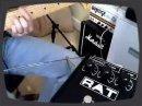Petit démonstration des possibilités sonores de la pédale de disto ProCo Rat 2.
