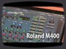 A video about a cool mixing console : the Roland M400.