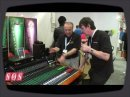 Aperçu de la console ATB 16 signée Toft Audio Designs lors du MusikMesse 2009.