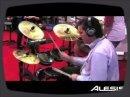 Aperçu du stand Alesis au salon du NAMM 2009.