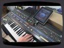 Une démo du Line 6 MIDI Mobilizer avec un iPad. On profite aussi pendant la démo de voir et d'entendre un Roland Jupiter-6.