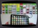 Aperçu du Launchpad, le contrôleur dédié à Ableton Live signé Novation.