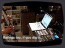Utilisation d'Ableton Live avec le contrôleur MPD32 d'Akai.