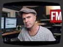 Luke Solomon en Studio est filmé par l'équipe de Future Music.