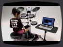 Voici un nouveau modèle de V-Drums présenté pendant le NAMM. La HD-3/DT1 V-Drums Lite est un modèle d'entrée de gamme.