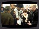 Une visite de marque sur le stand Reactable penda t le NAMM 2012, en la personne de Stevie Wonder.