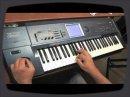 Performance live de Richard Friedman sur la guitare électrique virtuelle Electri6ity de Vir2 Instruments, jouée à partir d'un clavier.