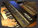 "Vintage synth demo by RetroSound Roland Jupiter-4 Analog Synthesizer (1978); For me is the JP-4 the Jupiter synth with the most interesting sound. Sorry JP-8 :) Four voices. These are nearly always ""out of tune"