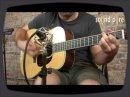 Une démo de la guitare acoustique Santa Cruz DH Custom 5575 au Sound Pure Studio.
