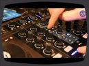 The Sonic State team checks out a prototype of the new Native Instruments Traktor S4 DJ controller at the BPM Show 2010.