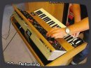 Vintage synth demo by RetroSound Moog Minimoog Analog Synthesizer from the year 1970