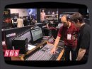 24 Channel Studio Recording Mixer in demo during the NAMM show and filmed by Sound on Sound.