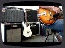 Brunetti Singleman 16w / Gibson Vintage ES175 1965's en démo par Fluxson Music Marseille France.