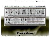 Instrument Virtuel : AudioMind Project Présente Freakshow pour TAL-BassLine 101 - pcmusic