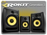 Audio Hardware : KRK Systems Releases ROKIT G3 Studio Monitors - pcmusic