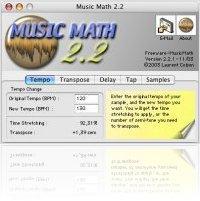 Music Software : MusicMath, a free audio calculator - macmusic
