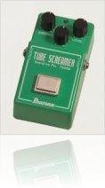 Music Hardware : NAMM: Ibanez Stompbox History is Back: TS808 - macmusic