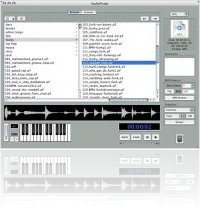 Music Software : AudioFinder 3.1 Adds Waveform Overview - macmusic