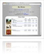 Music Software : Display iTunes Songs on Your Website: ITunes Catalog 1.6 - macmusic
